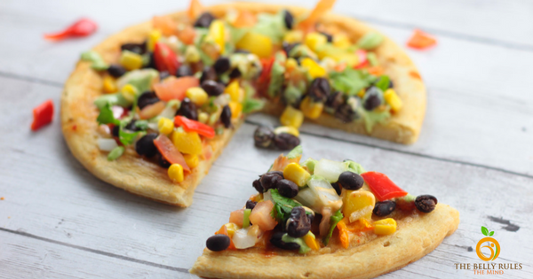 CPK style Spicy Chipotle Pizza Vegetarian