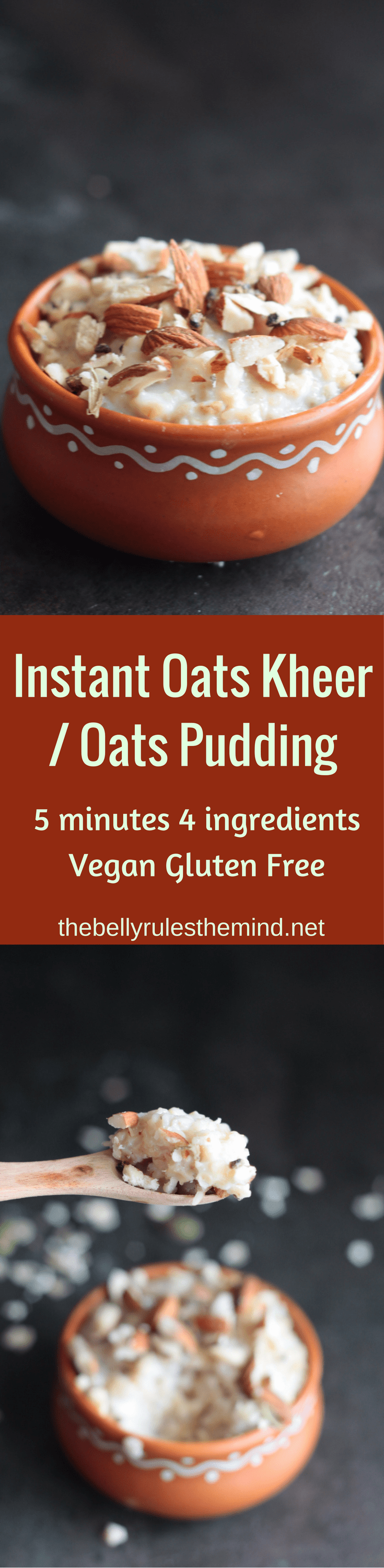 Indian Style Oats Pudding