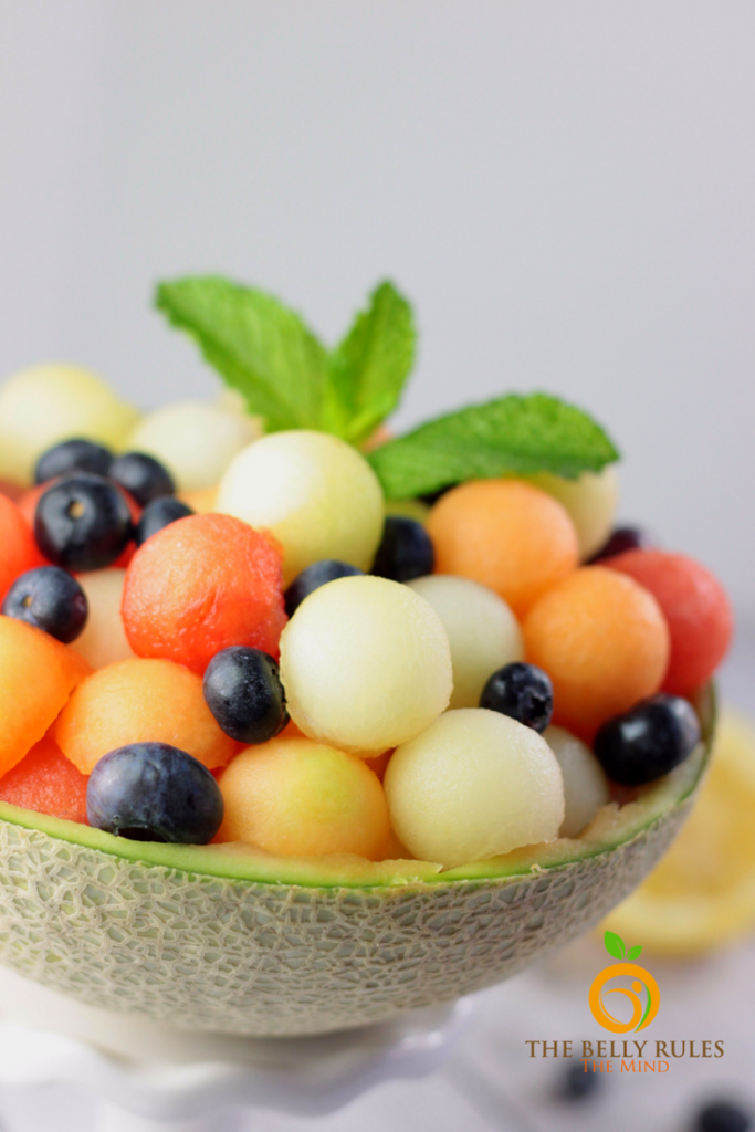 Summer Salad using Melons