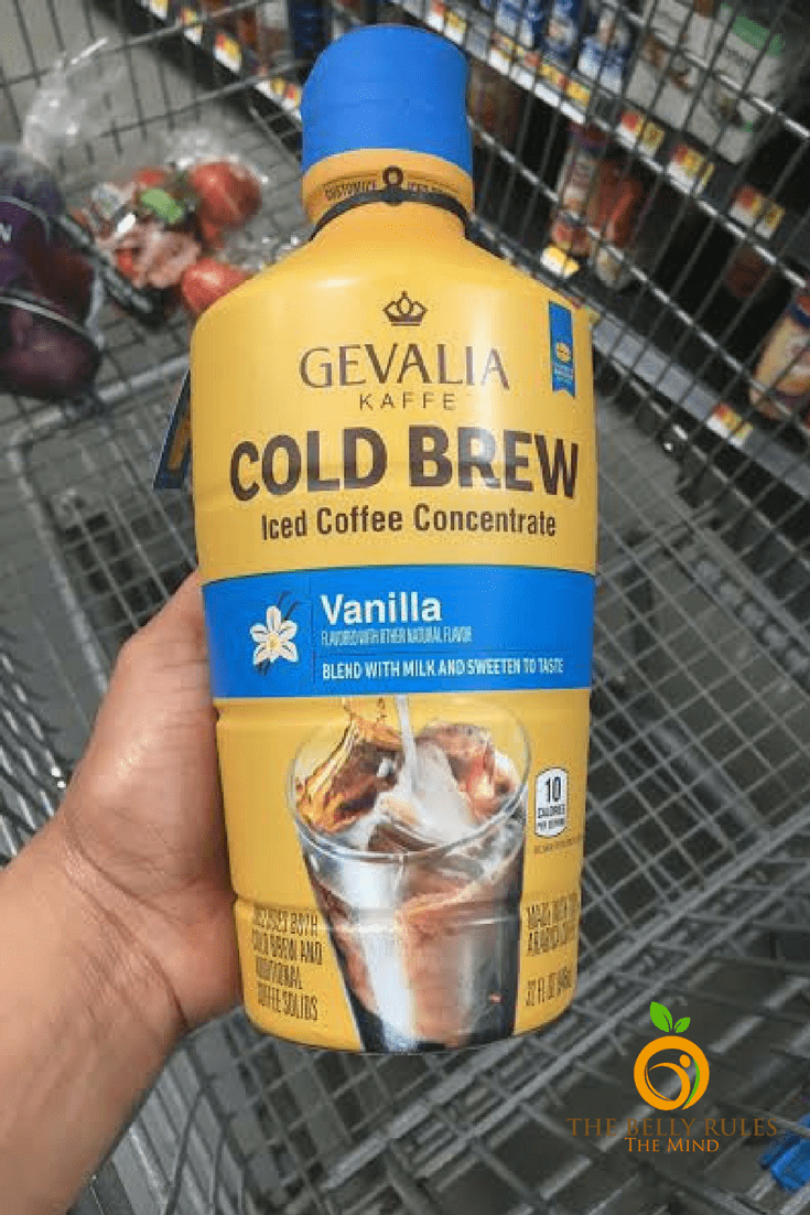 how to make orange iced coffee at home