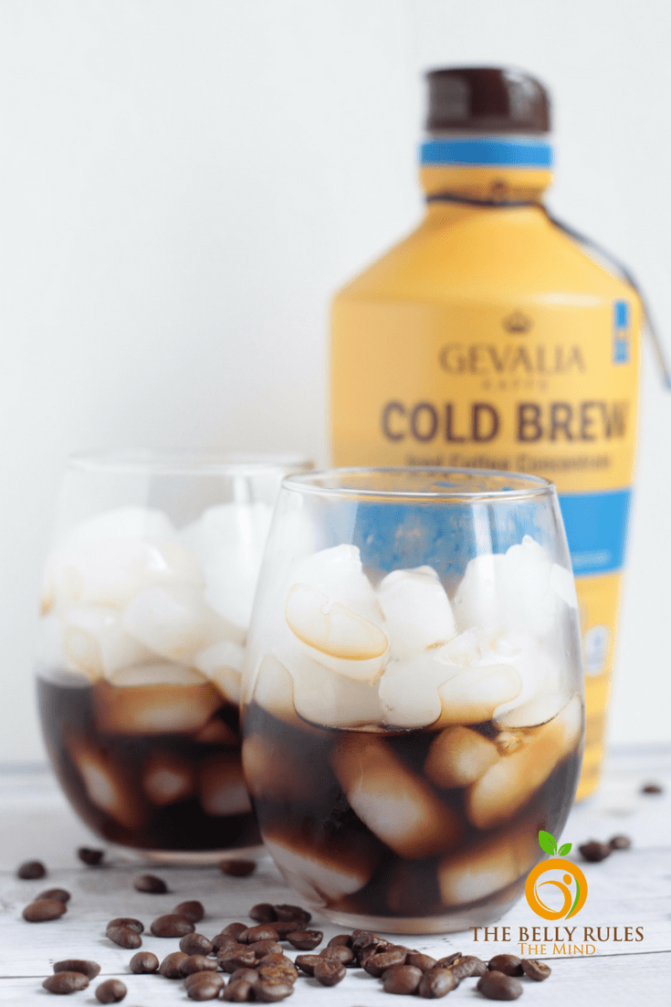 How to make orange iced cofee at home
