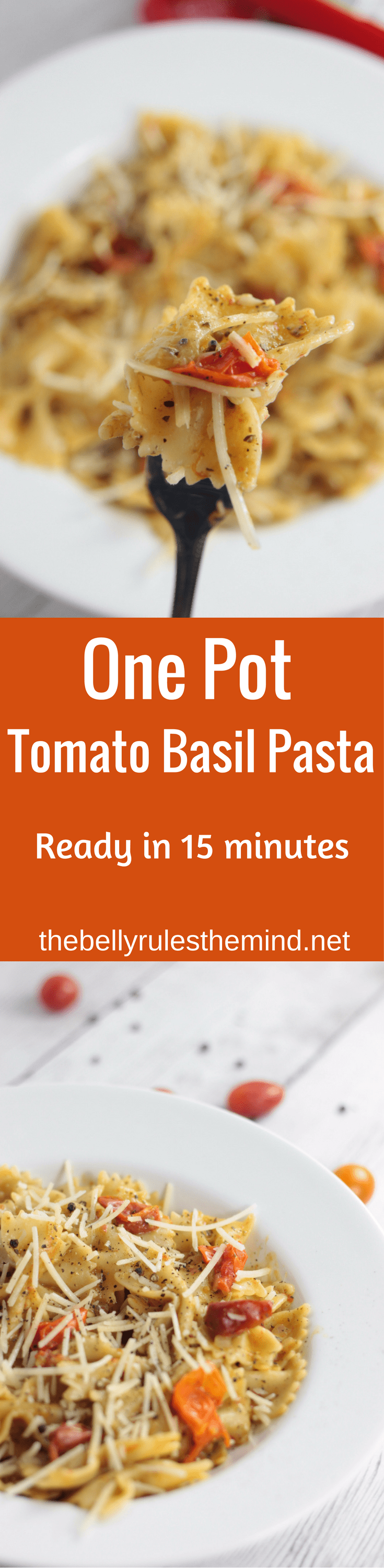 Easiest ever Summer Pasta . Ready in 15 minutes. Perfect for quick weeknight dinner|www.thebellyrulesthemind.net @bellyrulesdmind