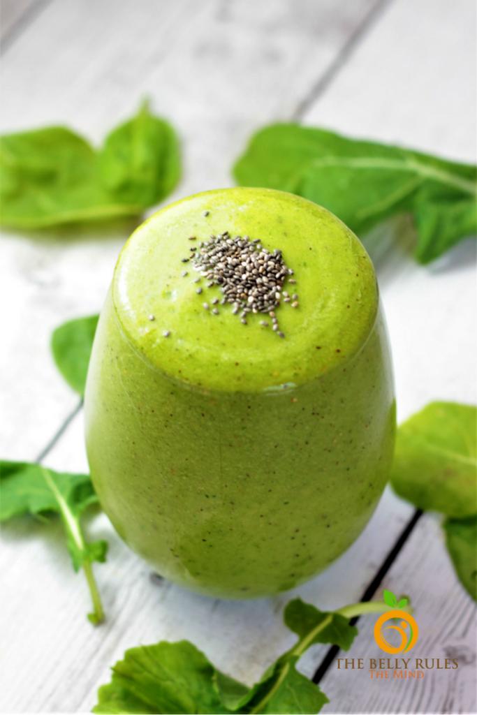 Pineapple Kiwi Green Smoothie