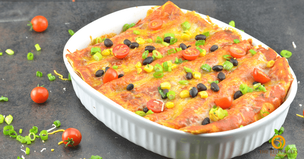 Quick & Easy Veg Enchiladas
