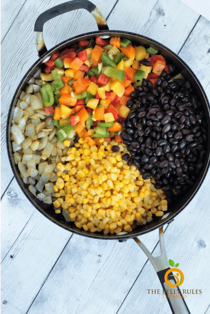 Healthy Vegetarian Mexican Casserole