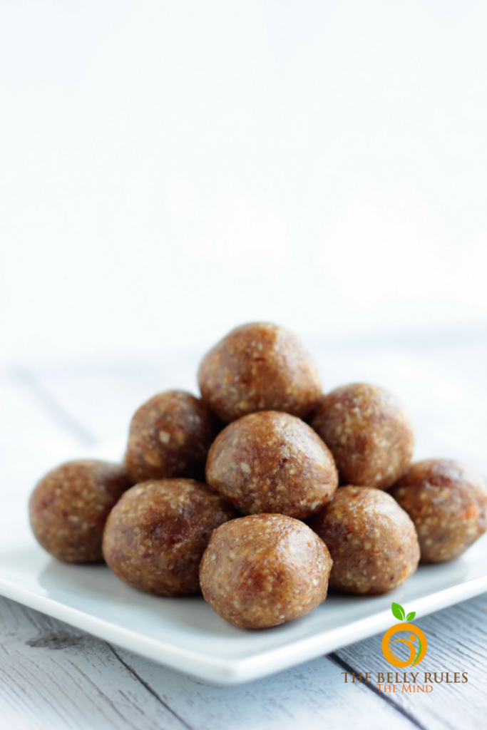 Dry Fruit Laddoos Energy Balls