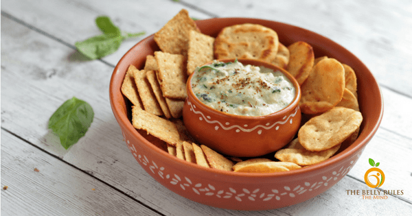 Smoky Eggplant dip with GOODTHiNS