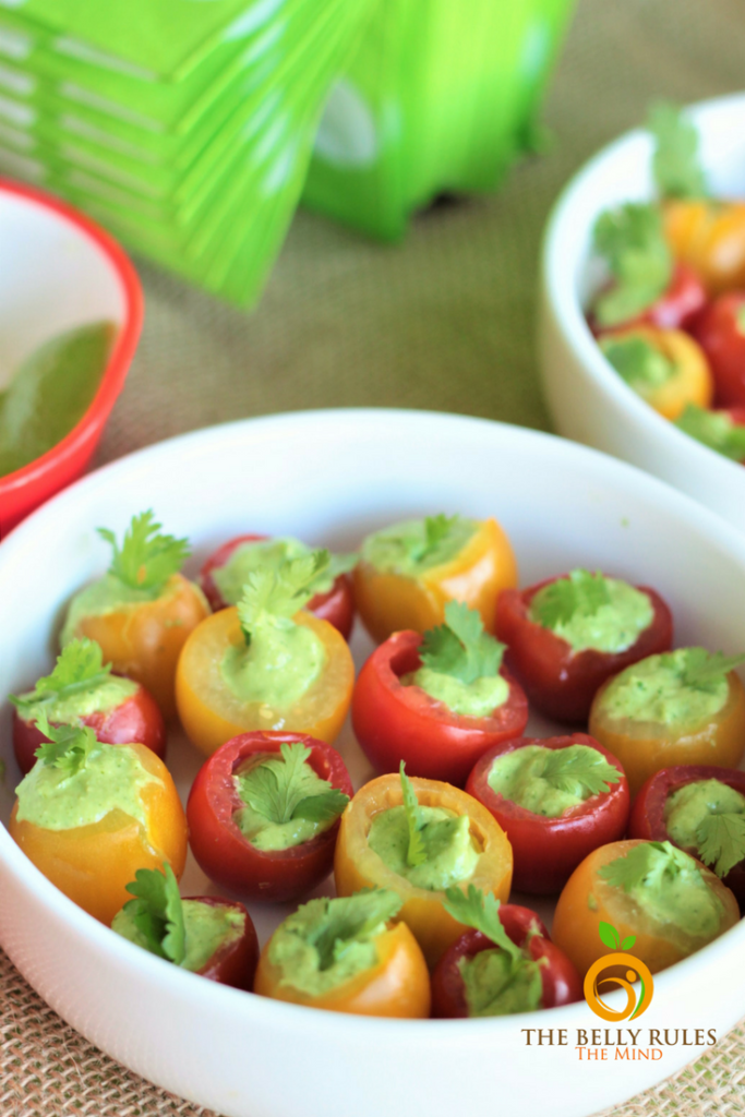 Avocado Recipes Hass Chipotle Avocado Stuffed Cherry Tomatoes