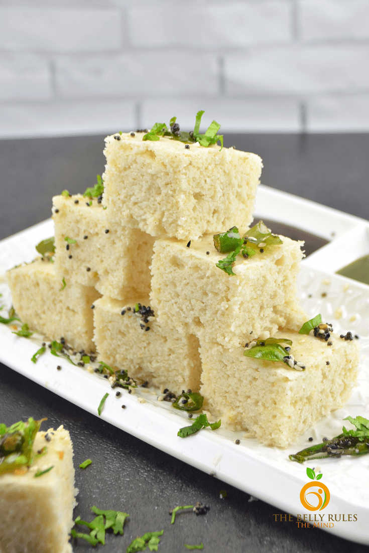 Instant Oats Dhokla