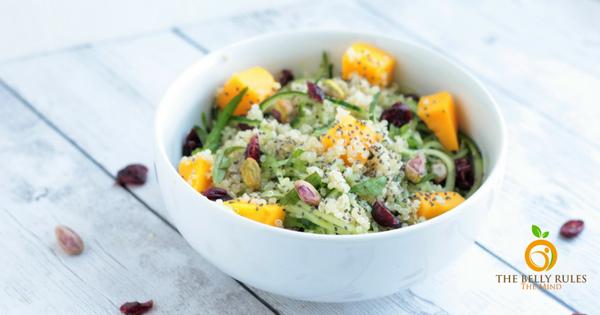 Superfood Spiralized Salad (V+GF)