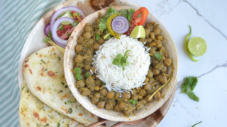 Punjabi Pindi Chole / Indian Style Masala Chickpeas