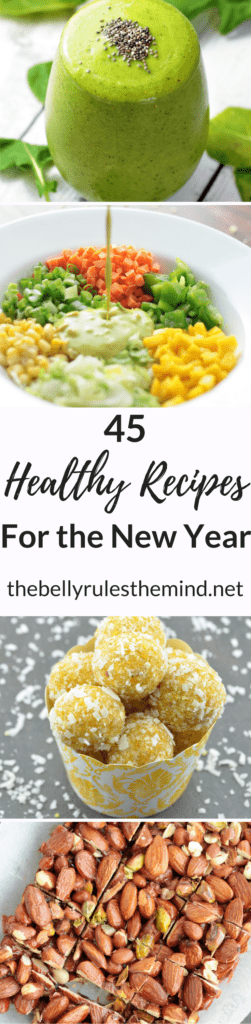 Healthy Recipes for the New Year by TheBellyRulesTheMind.net