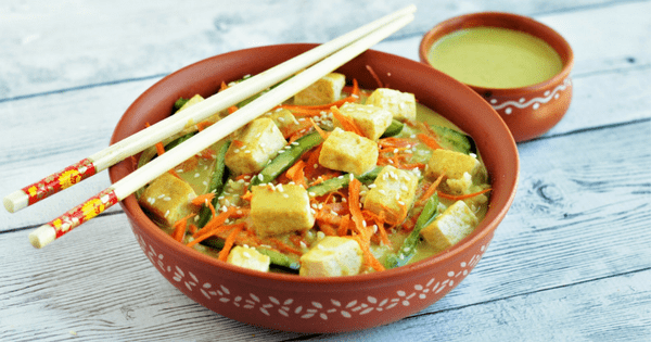 Thai Tofu Buddha Bowl FI