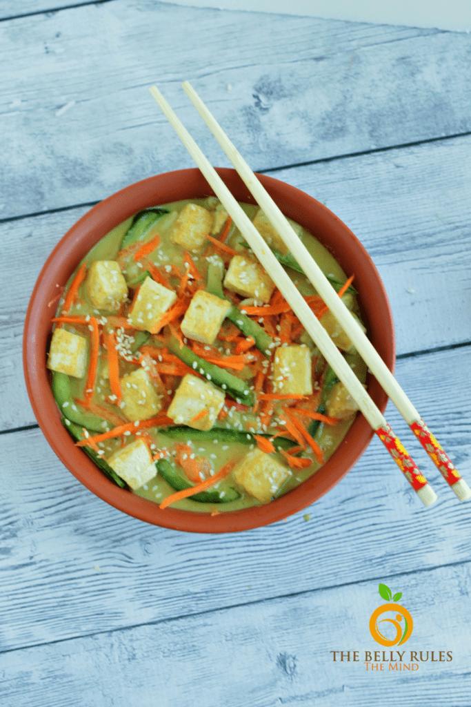 Thai Tofu Buddha Bowl
