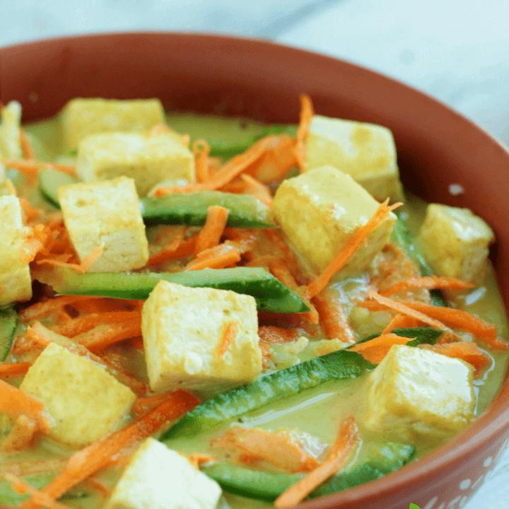 Thai Tofu Buddha Bowl vegan glutenfree