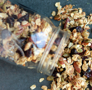fall pumpking spice granola