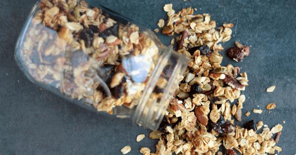 fall pumpking spice granola
