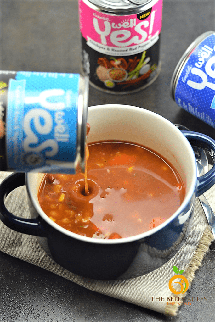 It's 2018! New year, new goals, new changes, new habits, new you. Everybody wants to start the new year on the right foot. Well Yes! Today we are partnering with Campbell's Well Yes!® Soup(s) to share my life changing Well Yes! Moments with you all and inspire you to say yes to the good stuff in the new year.