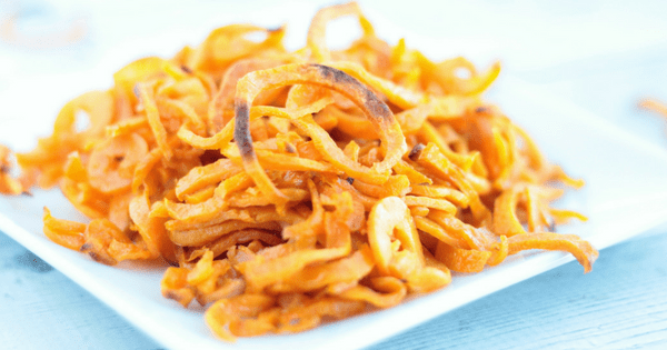 Sweet Potato Curly Fries (V+GF)