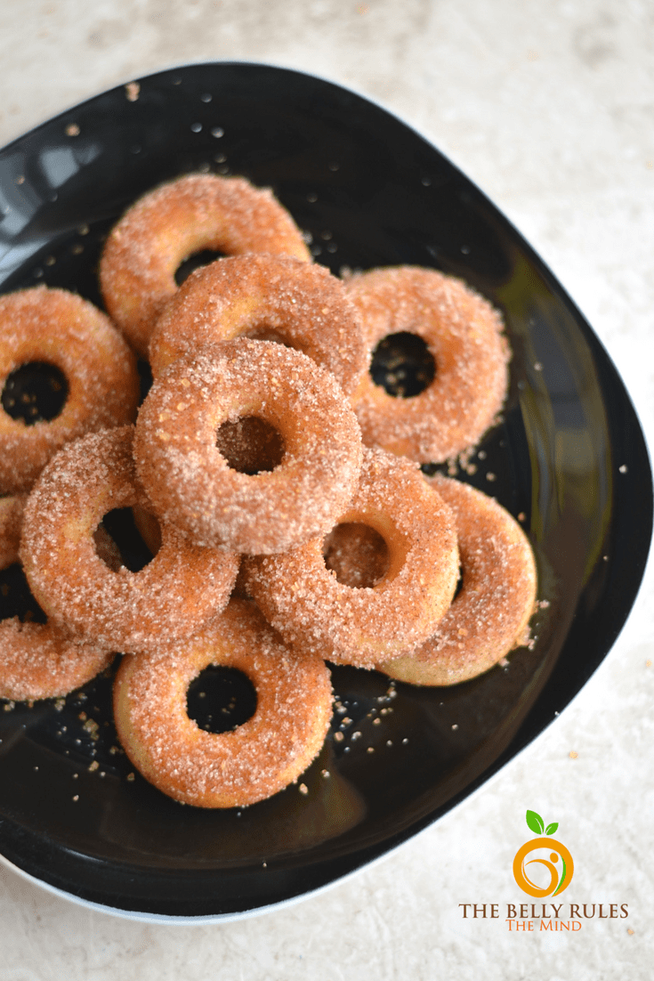 mini churros donuts