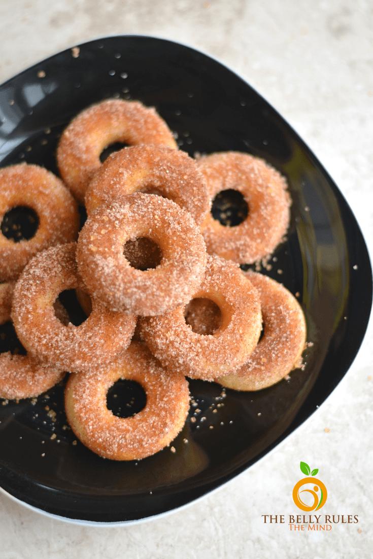 mini churros donuts