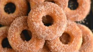 Mini Churros Donuts ( Gluten-free+Vegan)