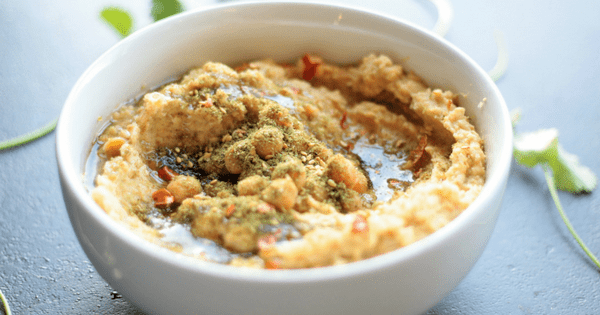 Zaatar Hummus Vegan Gluten Free