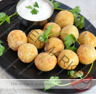 Potato balls, Potato patties