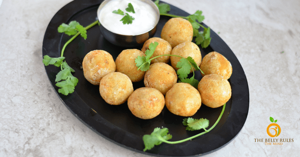 Potato balls, Potato patties