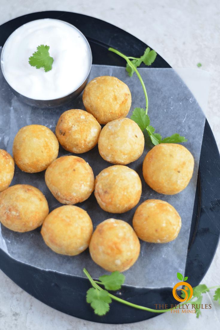 potato patties , potato balls