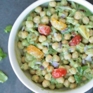 chickpea salad garbanzo beans