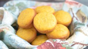 vegan cornbread muffin ( No-refined sugar)