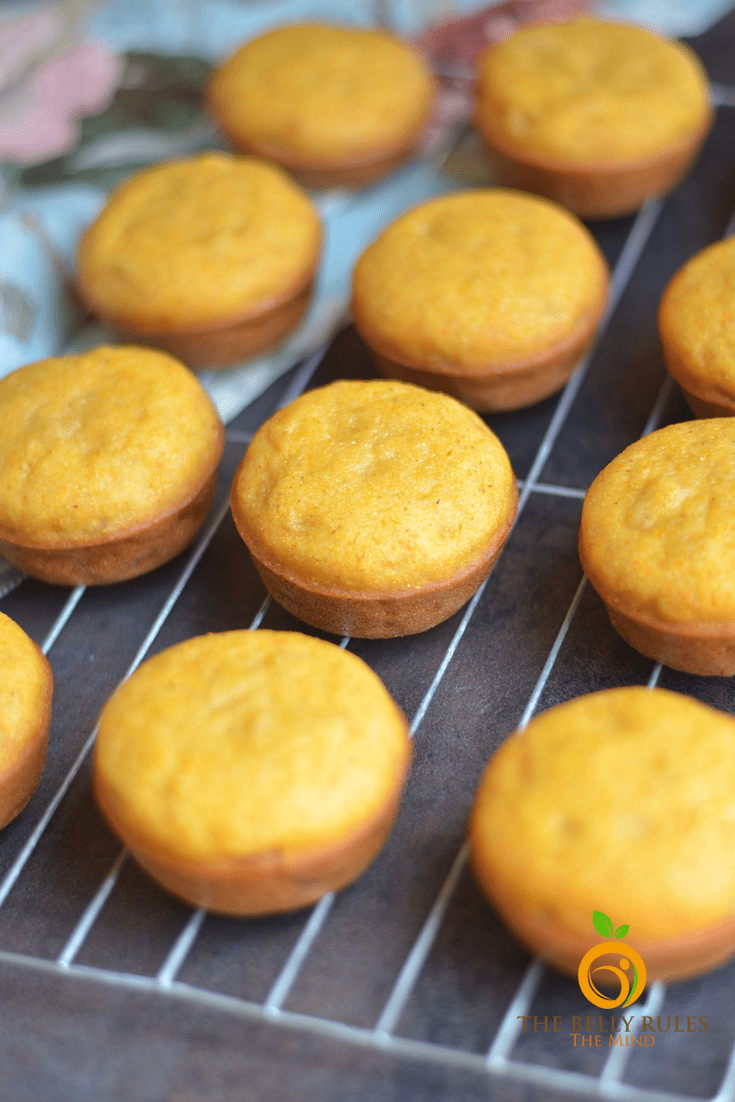 vegan cornbread muffin ( No-refined sugar)