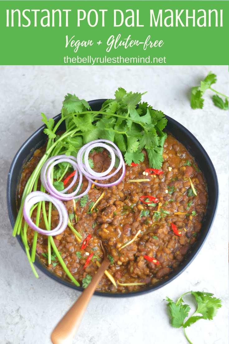 Dal Makhani is one of the most ordered vegetarian curry recipe in Indian restaurants. No Punjabi get-together is complete without this finger licking and creamy Instant Pot Dal Makhani. Who said Dal Roti is a boring meal? Just indulge in this super delicious, Restaurant Style Dal Makhani and you will fall in love with it!!