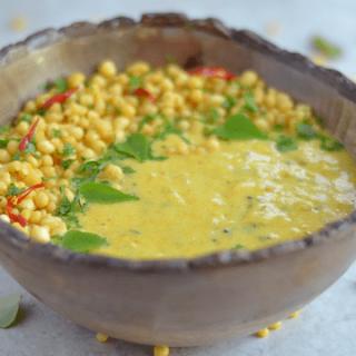 Instant-Pot Punjabi Kadhi Pakoda