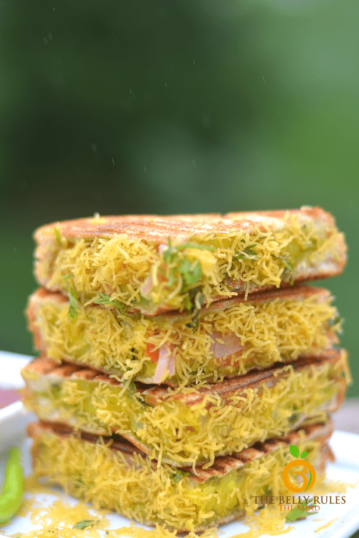 Bombay Sandwich – Vegan Masala Sandwich