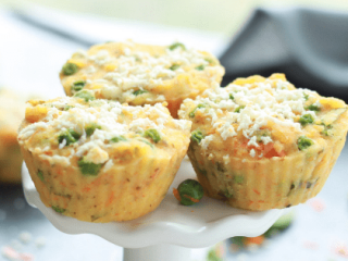 Savory Vegetable Breakfast Muffins The Belly Rules The Mind