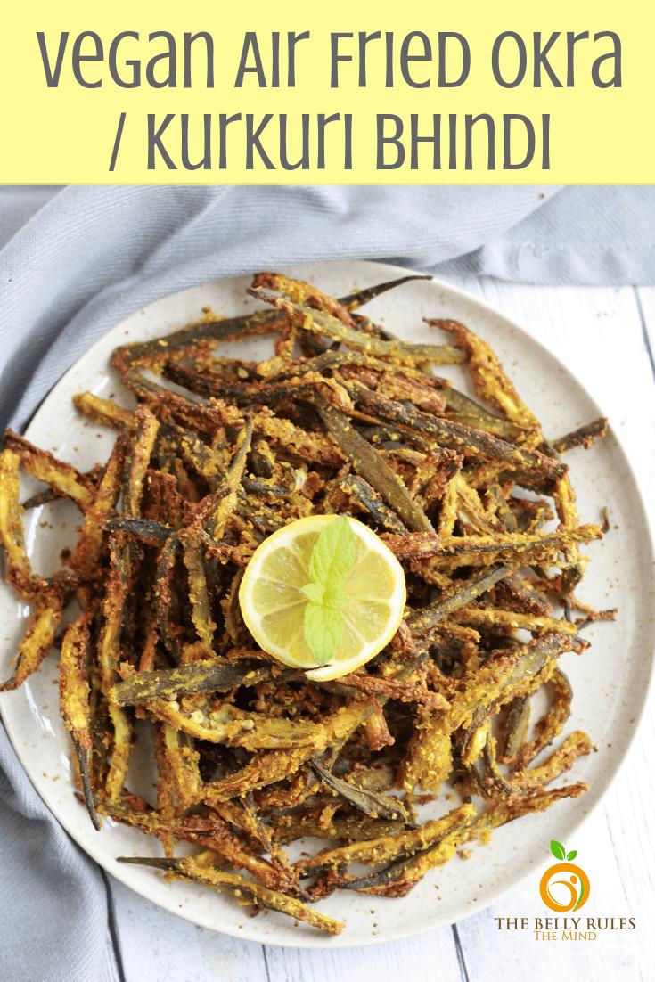 Vegan Air fried bindi
