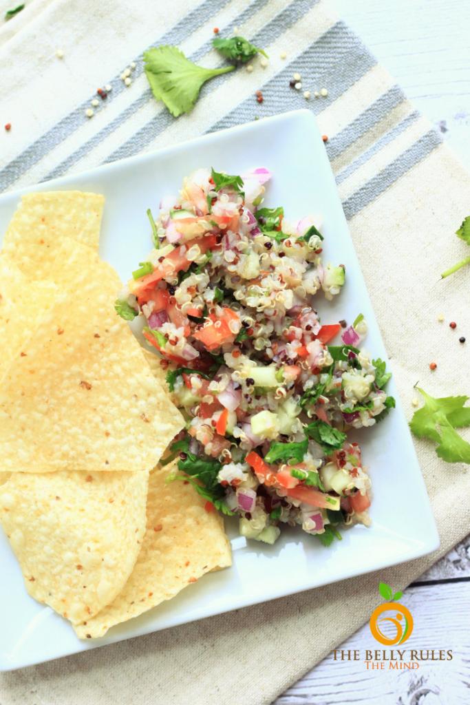 Vegan Quinoa Ceviche