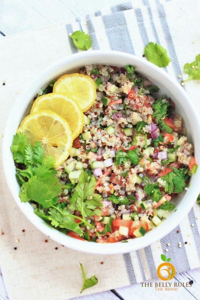 vegan ceviche quinoa salad recipe