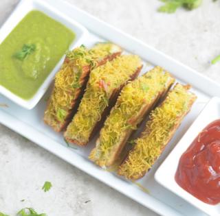 Bombay Sandwich-Vegan masala sandwich (10)