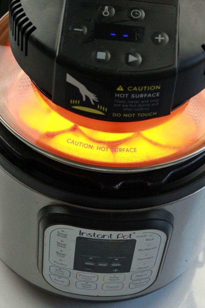 Air Fryer Lid Mealthy Crispt Lid Apple Chips