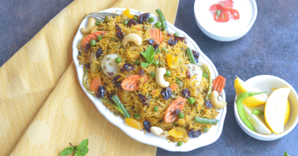 nstant pot vegan vegetable biryani recipe