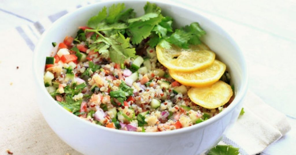 vegan ceviche quinoa recipe