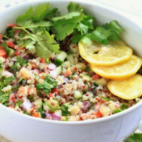 vegan ceviche quinoa recipe