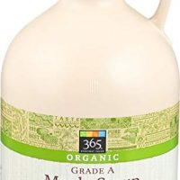 365 Everyday Value Organic Grade A Maple Syrup Amber Color, 32 Ounce