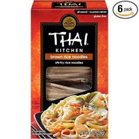 Thai Kitchen Gluten Free Brown Rice Noodles, 8 oz (Case of 6)