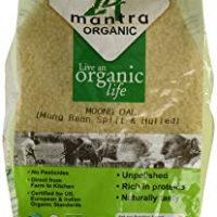 Organic Moong Dal - ★ USDA Certified Organic - ★ European Union Certified Organic - ★ Pesticides Free - ★ Adulteration Free - ★ Sodium Free - 2 Lbs - 24 Mantra Organic