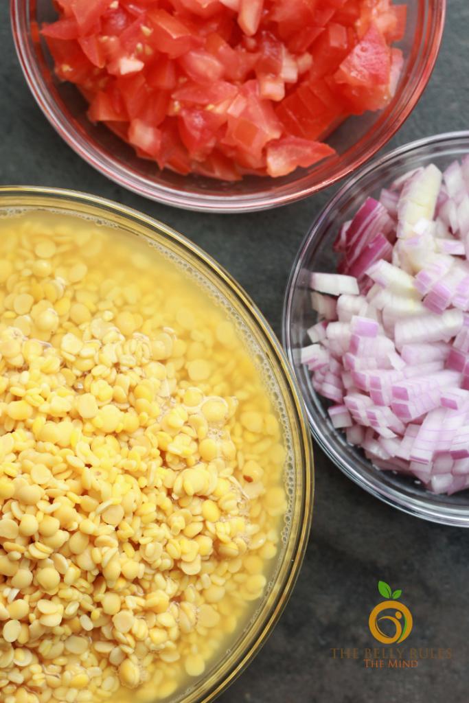 Dal Tadka Ingredients
