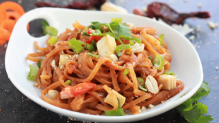Instant Pot Vegan Pad Thai Noodles